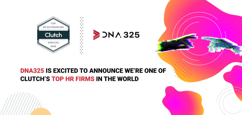 DNA325 is Excited to Announce We're One of Clutch's Top HR Firms in the World